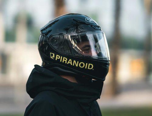 El casco SHOEI que uso para calle.