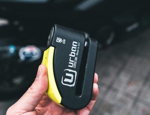 La pinza con alarma URBAN que uso a diario.