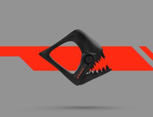 Piranoid Devorador Brutal Dark [Fondo de pantalla].