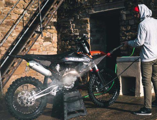 Probando el tapón de moto en TPU